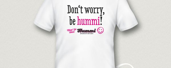 "T-Shirt ""Don't worry be hummi"""